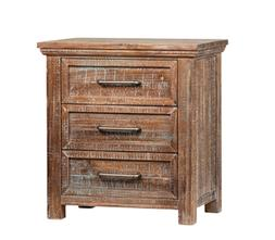 """Set of two 29"""" H  Nightstand Reclaimed Solid pine reclaimed"""