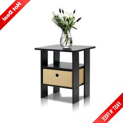 Side Table For Small Spaces Narrow Bedside End Tables Night