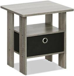 side table night stand shelf drawer storage