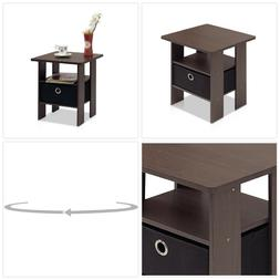 Small End Table Accent Side Sofa Stand Home Office Living Ro