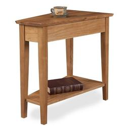 Small End Table Nightstand Chair Side Narrow Wooden Living R