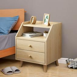 Sofa End Table Bedside Nightstand Bedroom Storage Cabinet Ni