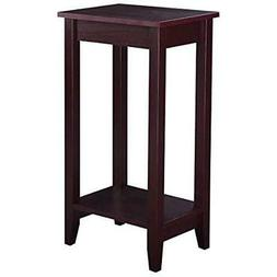 Tall Side End Table With Shelf Coffee Night Stand Bedside So