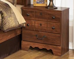 Signature Design by Ashley Timberline Night Stand, Warm Brow