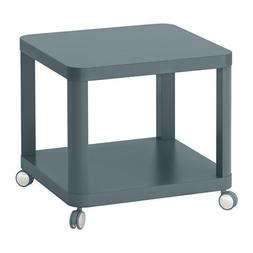 Ikea Tingby Side Table on casters Bedside Table Nightstand -