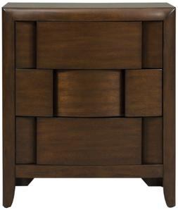 Magnussen Twilight Y1876-01 Wood 3-Drawer Nightstand