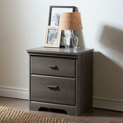 South Shore Versa 2-Drawer Night Stand, Multiple Finishes