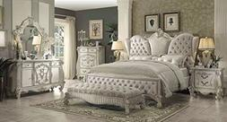 ACME Versailles Bedroom Set with California King Bed, Nights