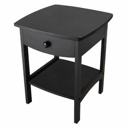 Winsome Wood 20218 Claire Accent Table, Black