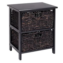 Giantex Wood End Accent Table Home Furniture Living Room Nig