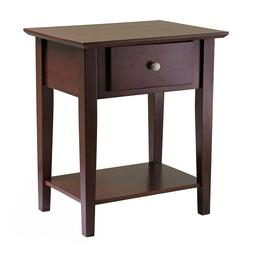 wooden shaker night stand end table